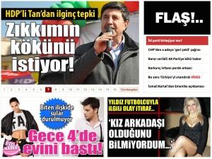 Figür 4: Gazete Vatan, 22 Mart 2015