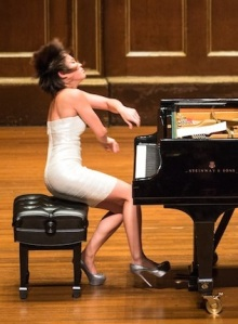 Pianist Yuja Wang, Oct 2013